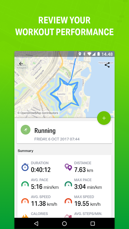 Endomondo - Running & Walking The App Store android Code Lads