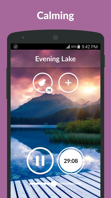 Screenshot Nature Sounds APK