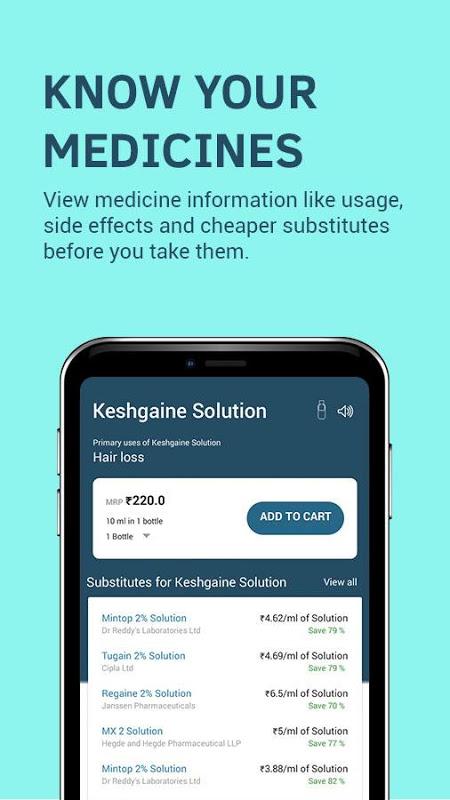 Screenshot 1mg - Online Medical Store & Healthcare App APK