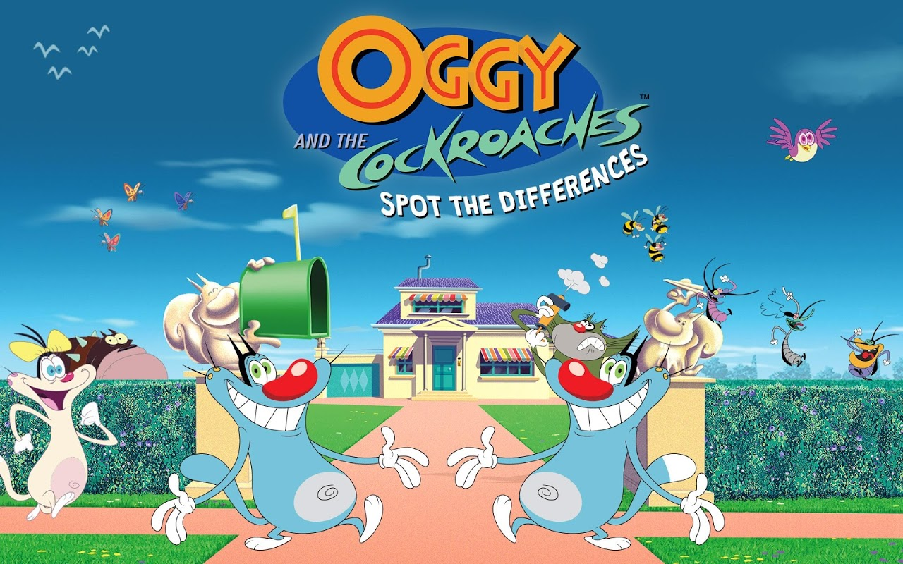 Screenshot Oggy and the Cockroaches - Spot The Differences APK