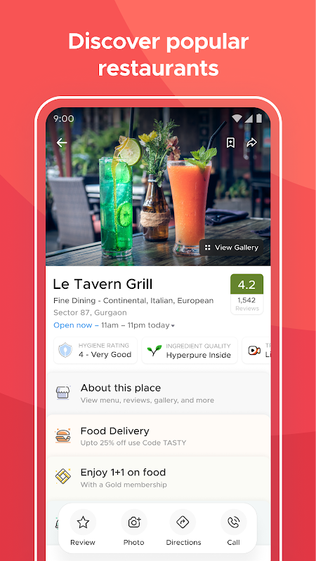 Zomato - Restaurant Finder and Food Delivery App The App Store android Code Lads