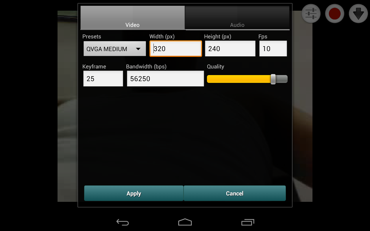 Screenshot Broadcaster for Android APK