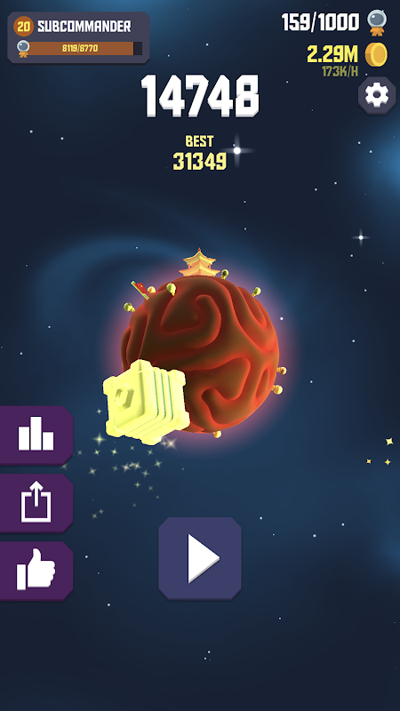 Screenshot Space Frontier 2 APK