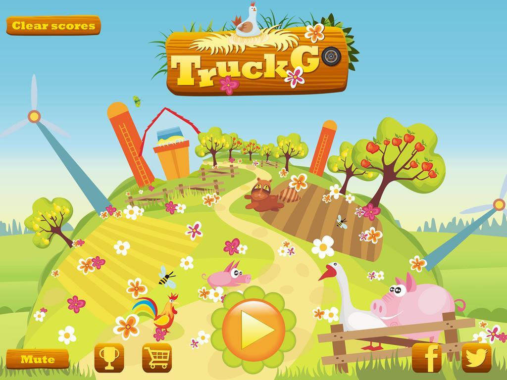 Screenshot Truck Go -- awesome truck express hill climb race game APK