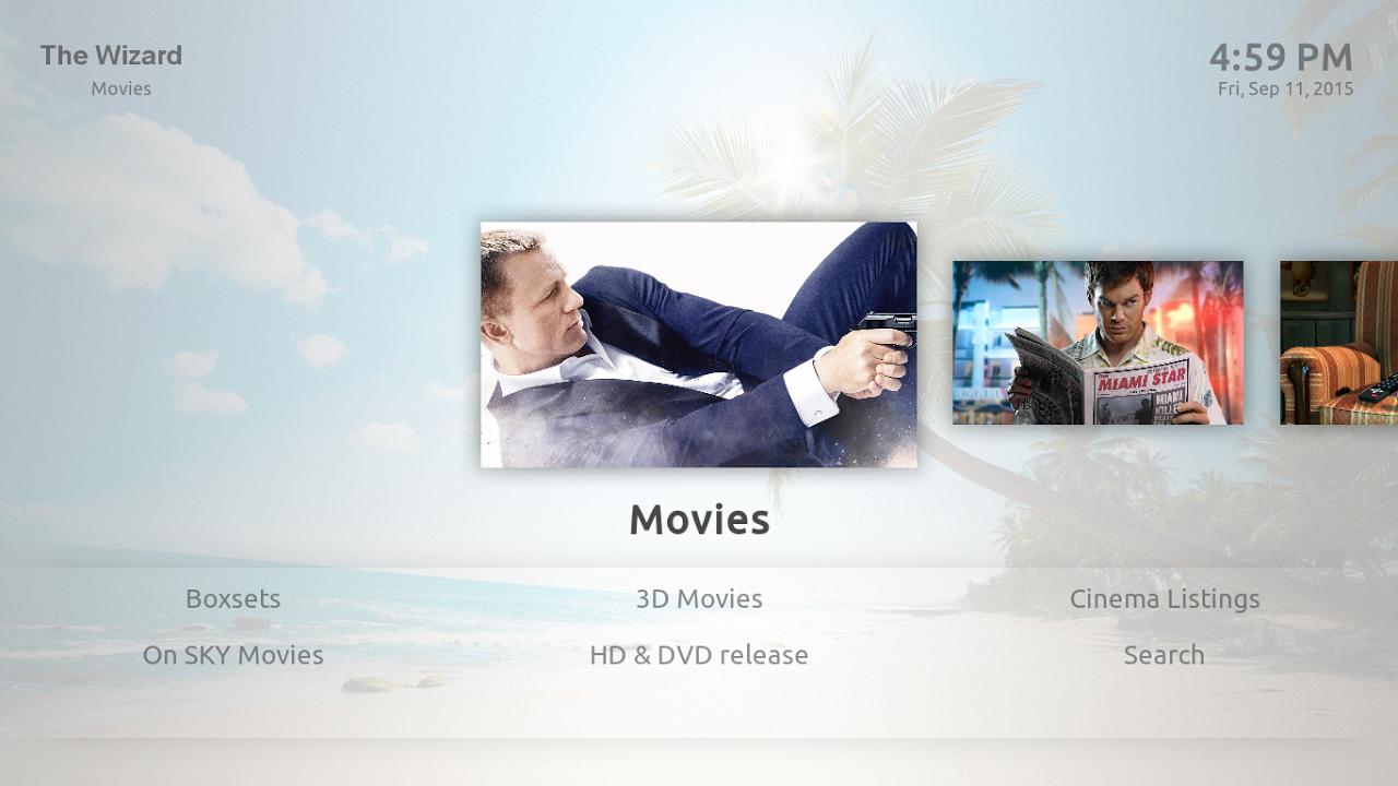 Screenshot Kodi on Android APK