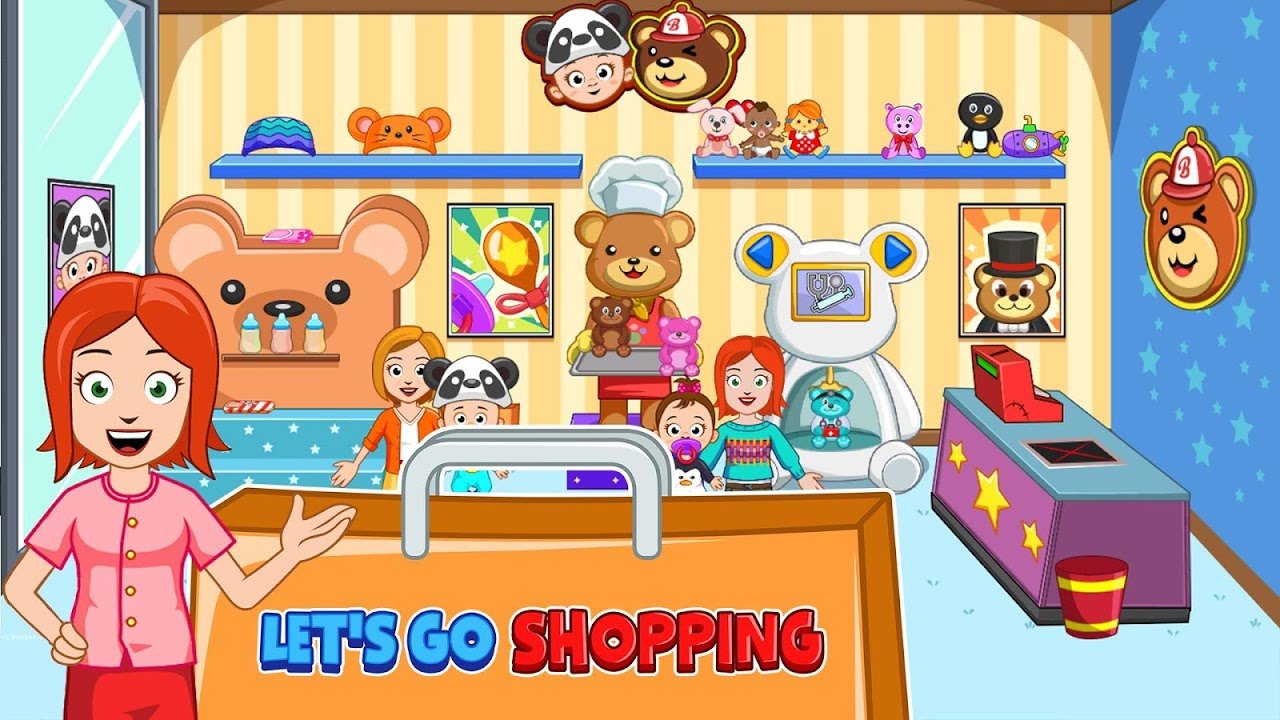 Screenshot My Town : Shopping Mall APK