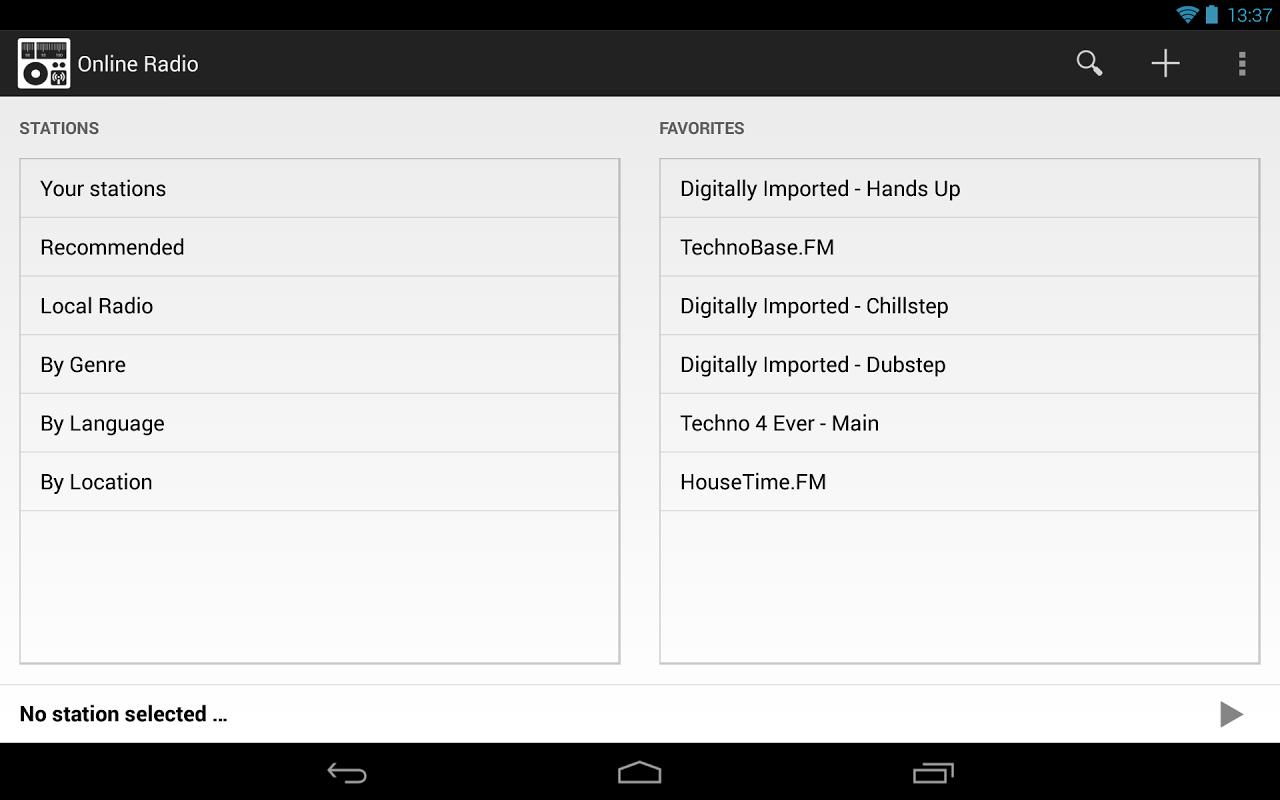 Online Radio The App Store