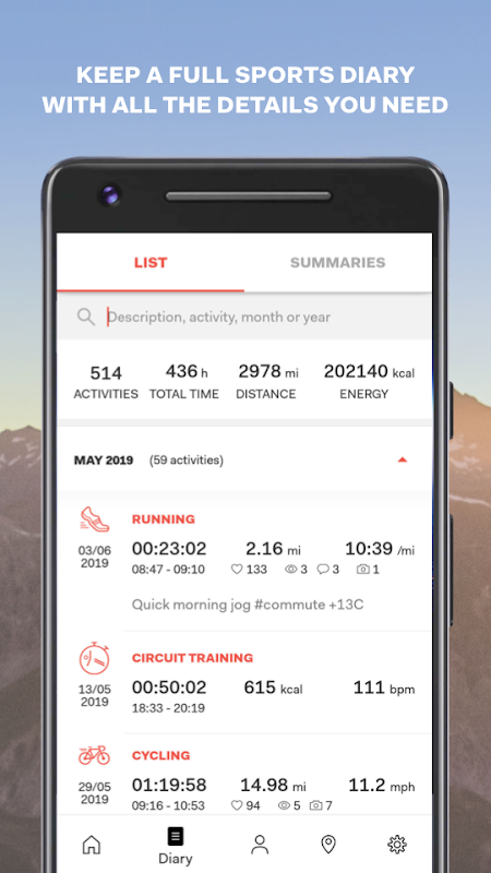 Sports Tracker Running Cycling The App Store android Code Lads