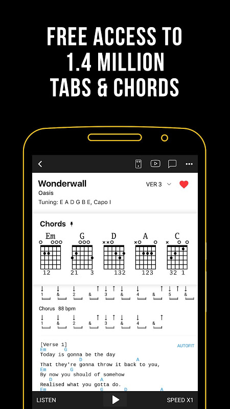 Ultimate Guitar Tabs & Chords The App Store