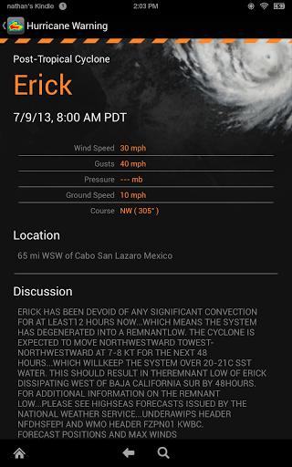 Screenshot MyRadar Weather Radar APK