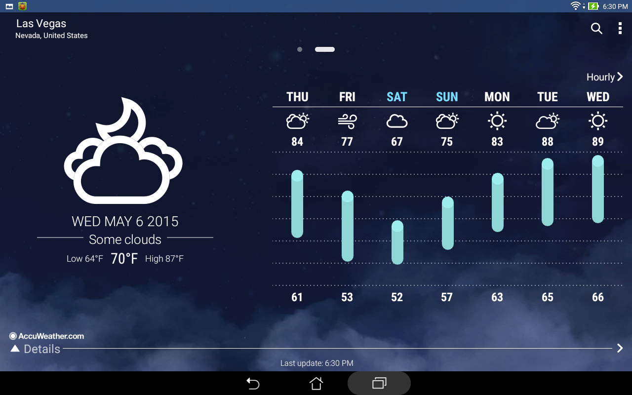 ASUS Weather The App Store