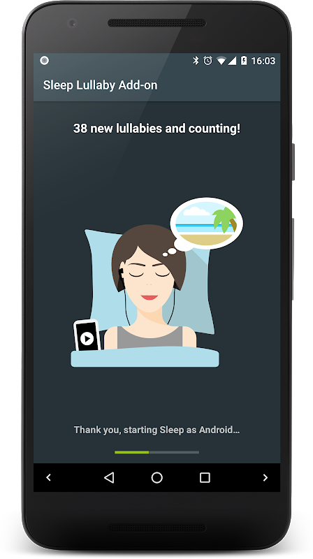 Lullaby Add-on for Sleep as Android (and Mindroid) The App Store