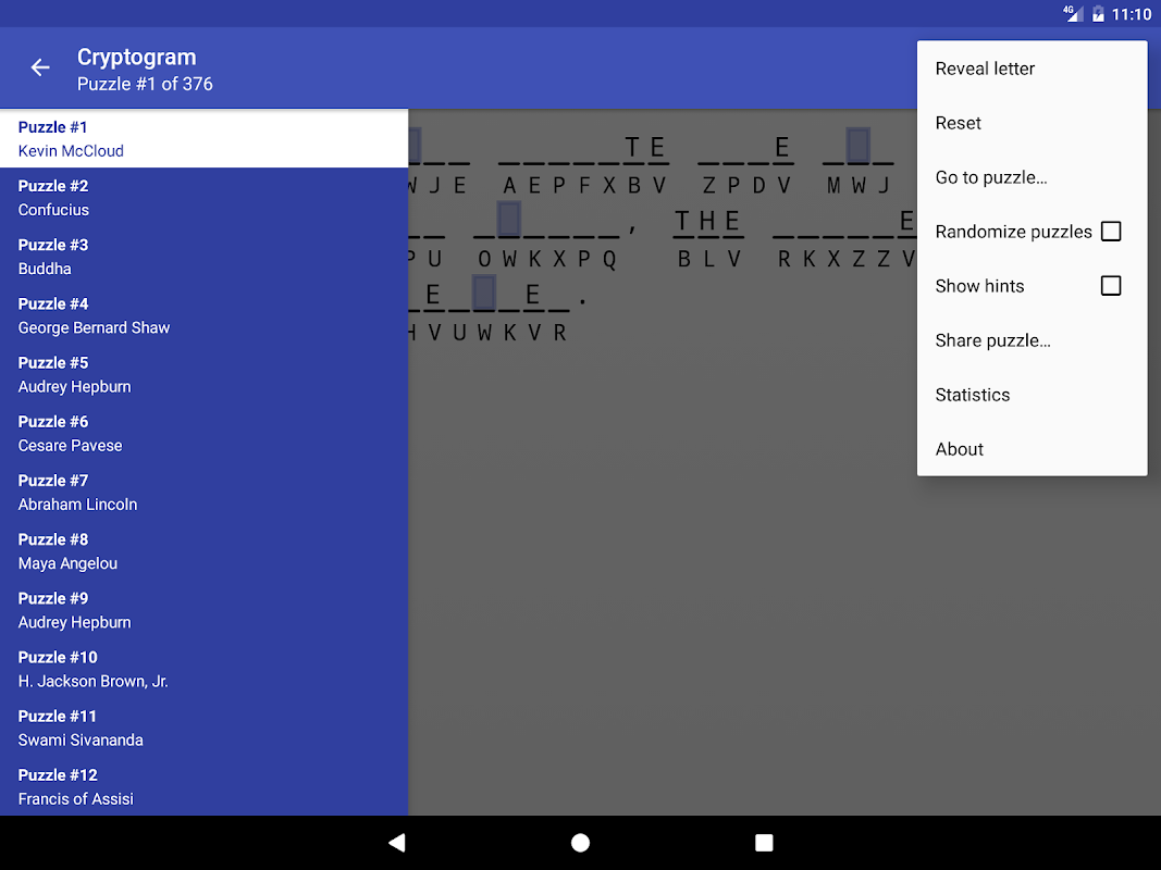 Screenshot Cryptogram APK