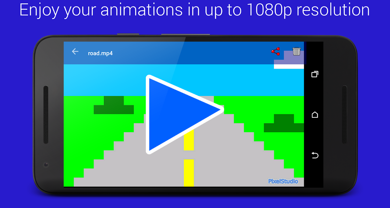 Screenshot Pixel Animation Studio MP4 GIF APK