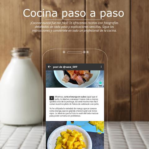 Recetas de cocina gratis – Tu comunidad de cocina The App Store android Code Lads