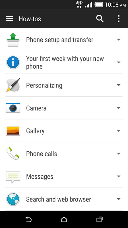 HTC Help The App Store