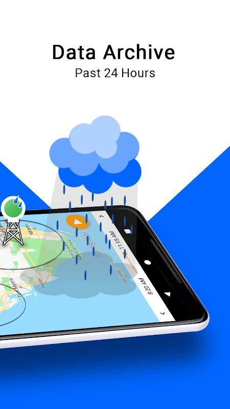 Screenshot RainViewer Weather Radars and Alerts APK