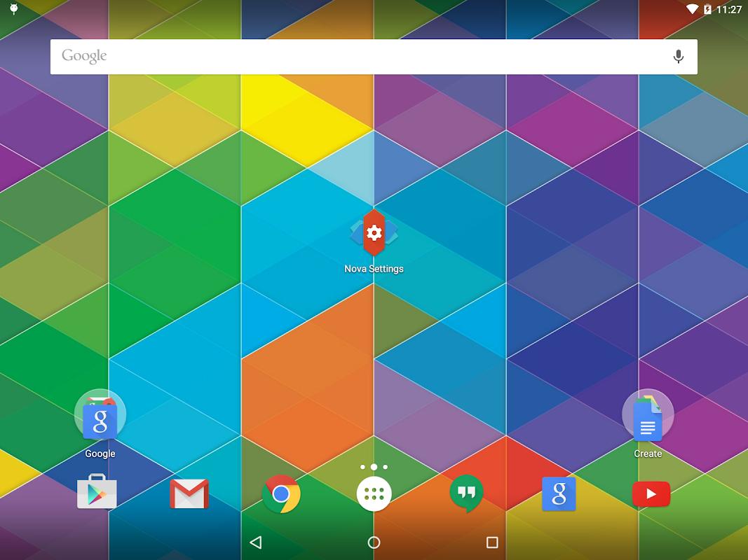Screenshot Nova Launcher APK