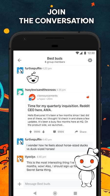 Screenshot Reddit APK