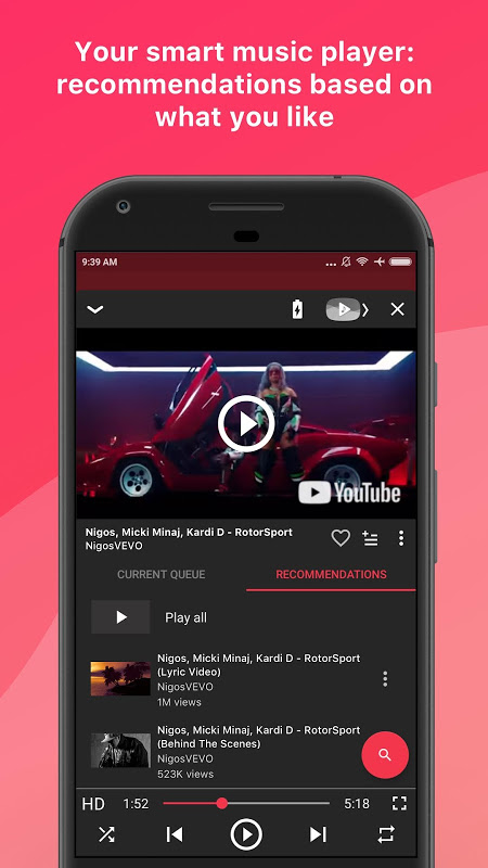 Free music for YouTube: Stream The App Store