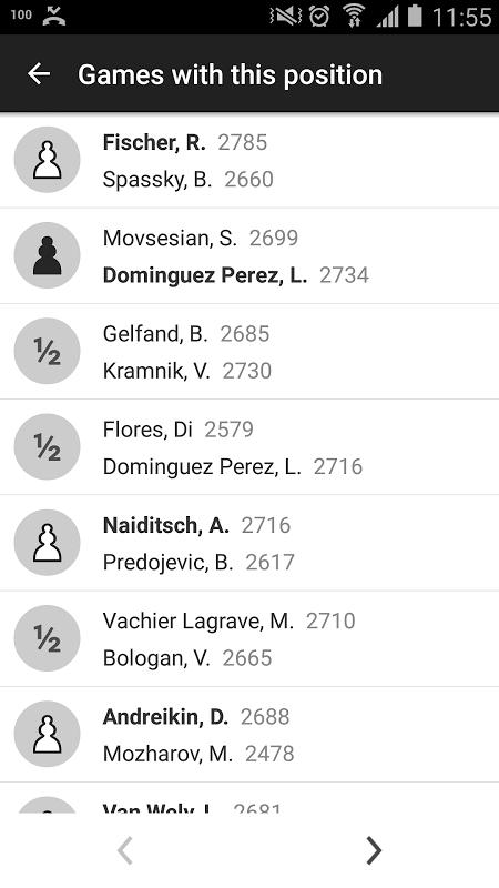 Screenshot Chess Openings Pro APK