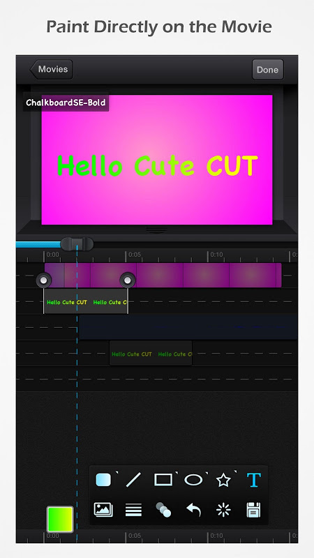 Cute CUT - Video Editor & Movie Maker The App Store android Code Lads