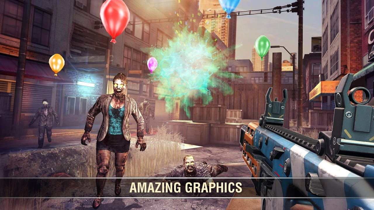 Screenshot Dead Trigger 2: First Person Zombie Shooter Game APK