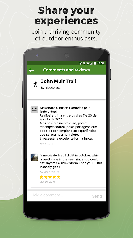Screenshot Wikiloc Outdoor Navigation GPS APK