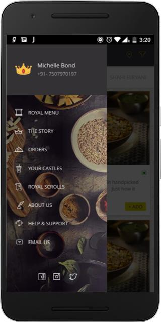 Behrouz - The Royal Biryani The App Store android Code Lads