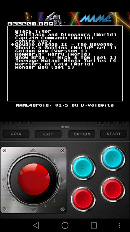 Screenshot MAME4ALL Android APK