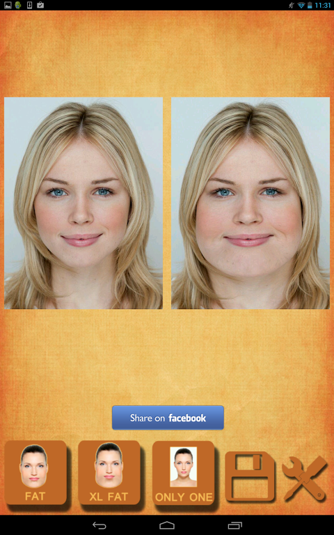 Screenshot Fatten Face - Fat Face APK