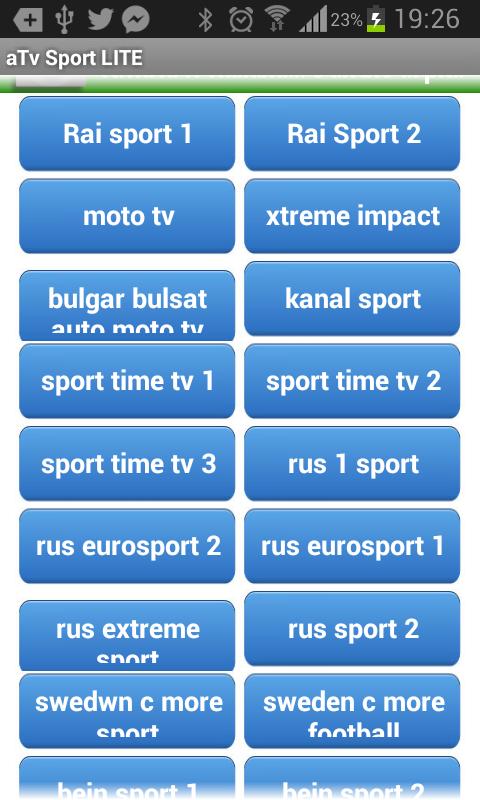 aTv tv Sport Streaming Lite The App Store