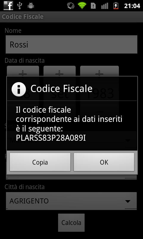 Codice Fiscale The App Store android Code Lads
