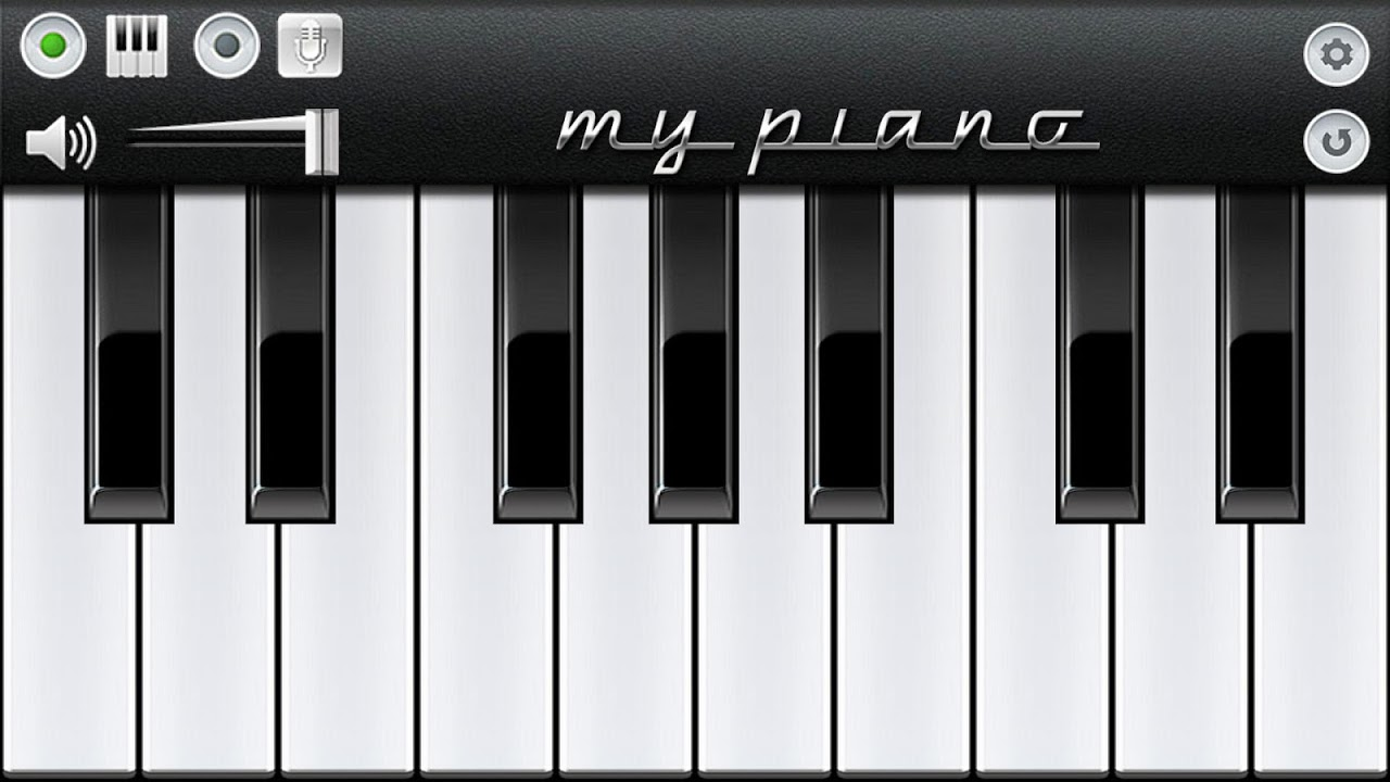 My Piano The App Store