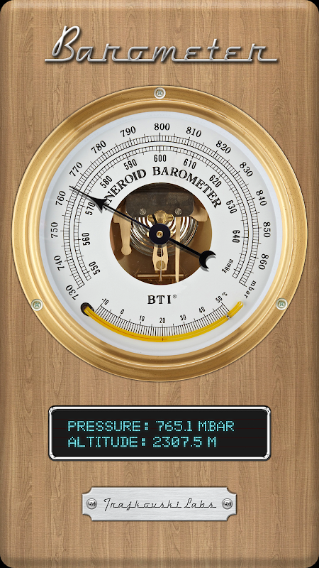 Barometer The App Store android Code Lads