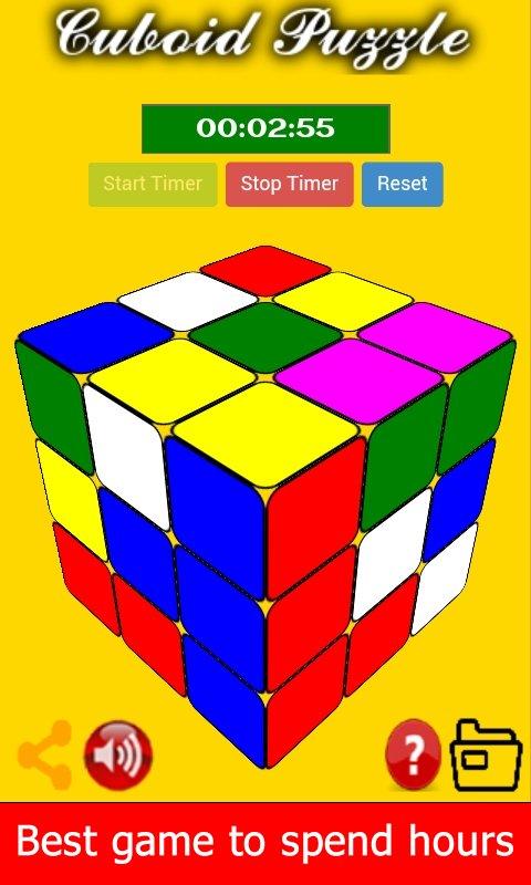 Screenshot Cuboid Puzzle Cubo Rubix APK