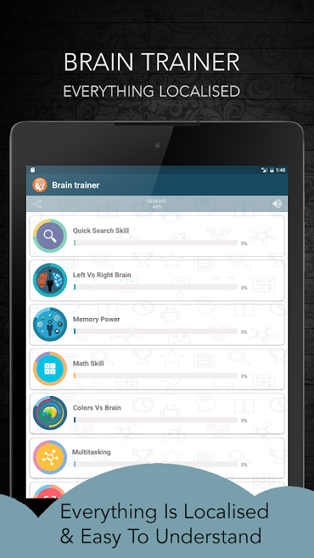 Screenshot Brain Training APK
