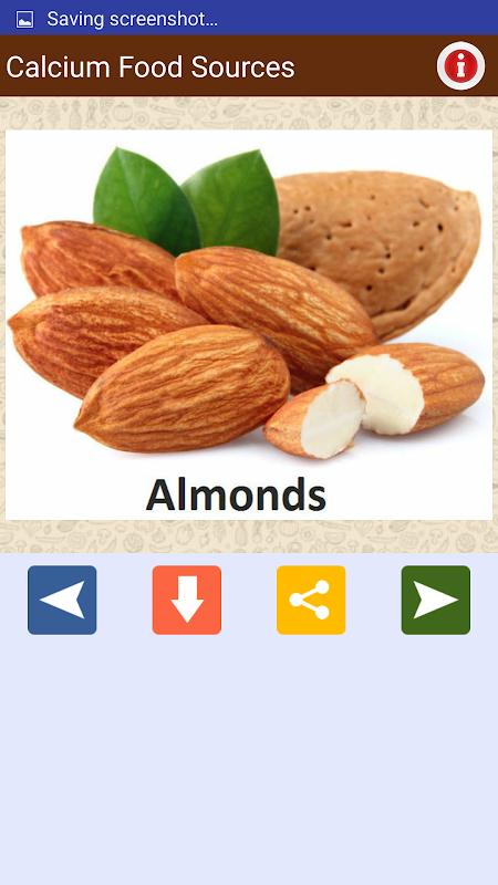 Screenshot Minerals & Antioxidants Foods APK