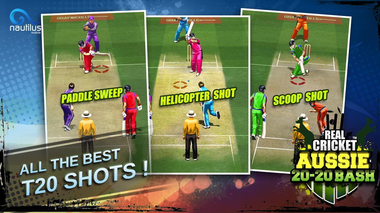 Screenshot Real Cricket ™ Aussie 20 Bash APK
