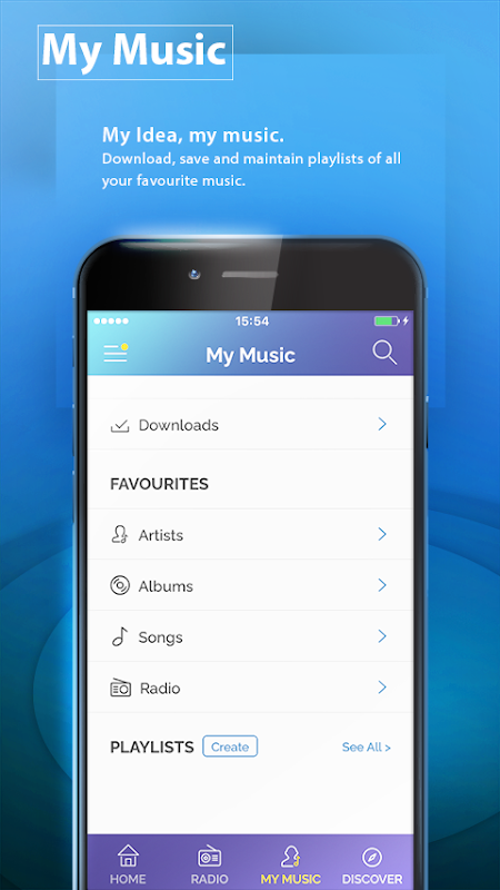 IDEA MUSIC – Sing Along HD Music & Radio The App Store android Code Lads