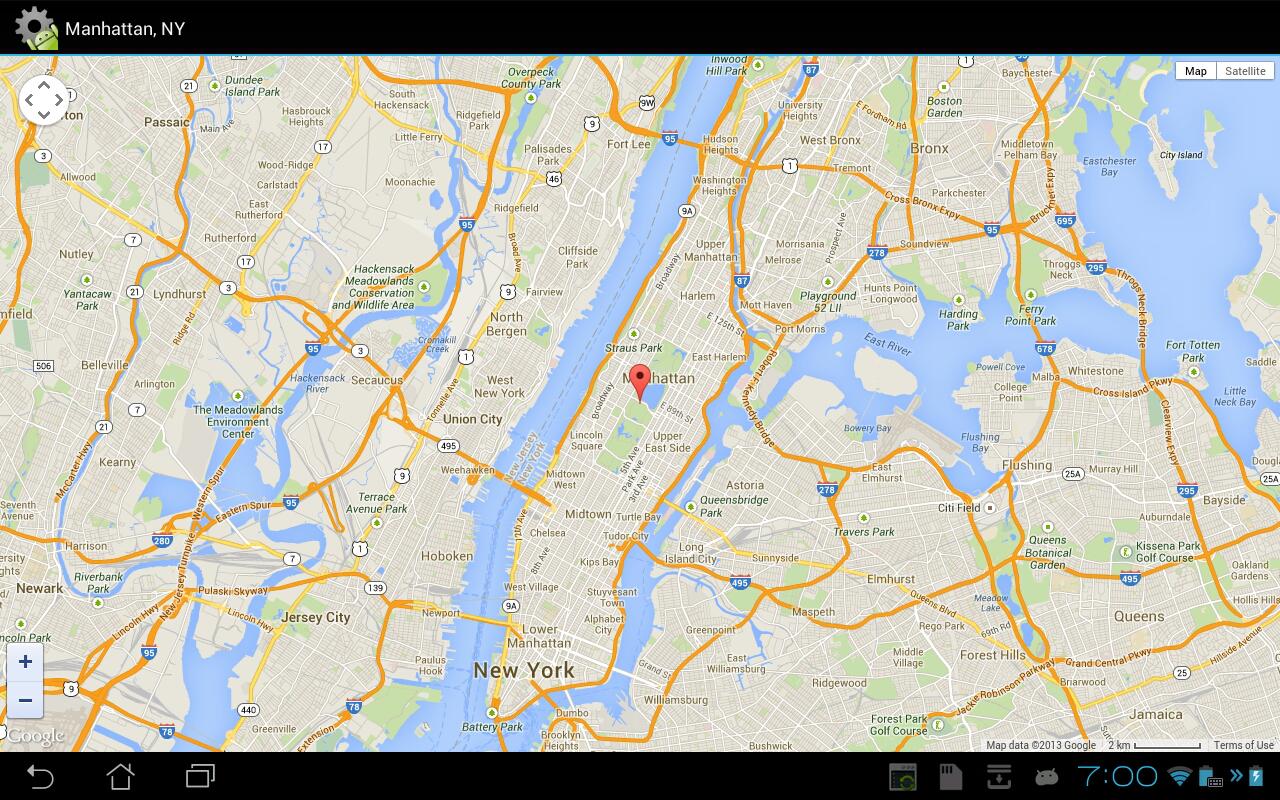 Screenshot Android JavaScript Framework APK