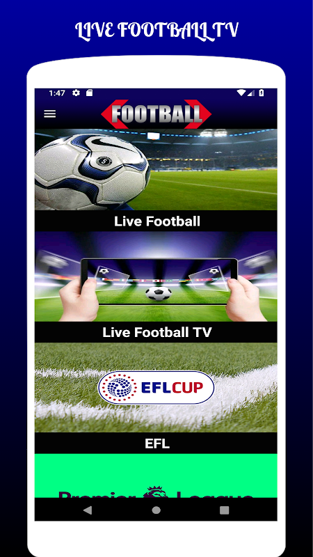 LIVE FOOTBALL TV STREAMING HD The App Store