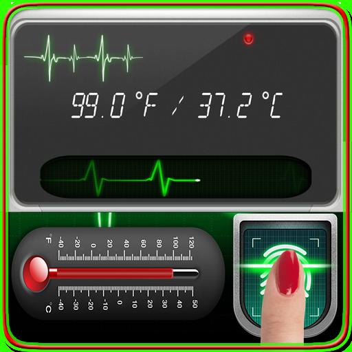 Body Temperature Check : Thermometer Fever Tracker