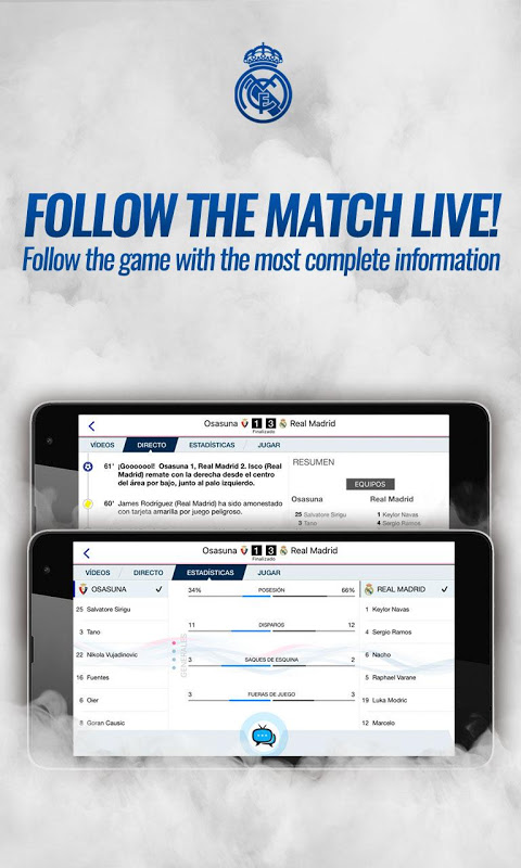 Real Madrid App The App Store android Code Lads