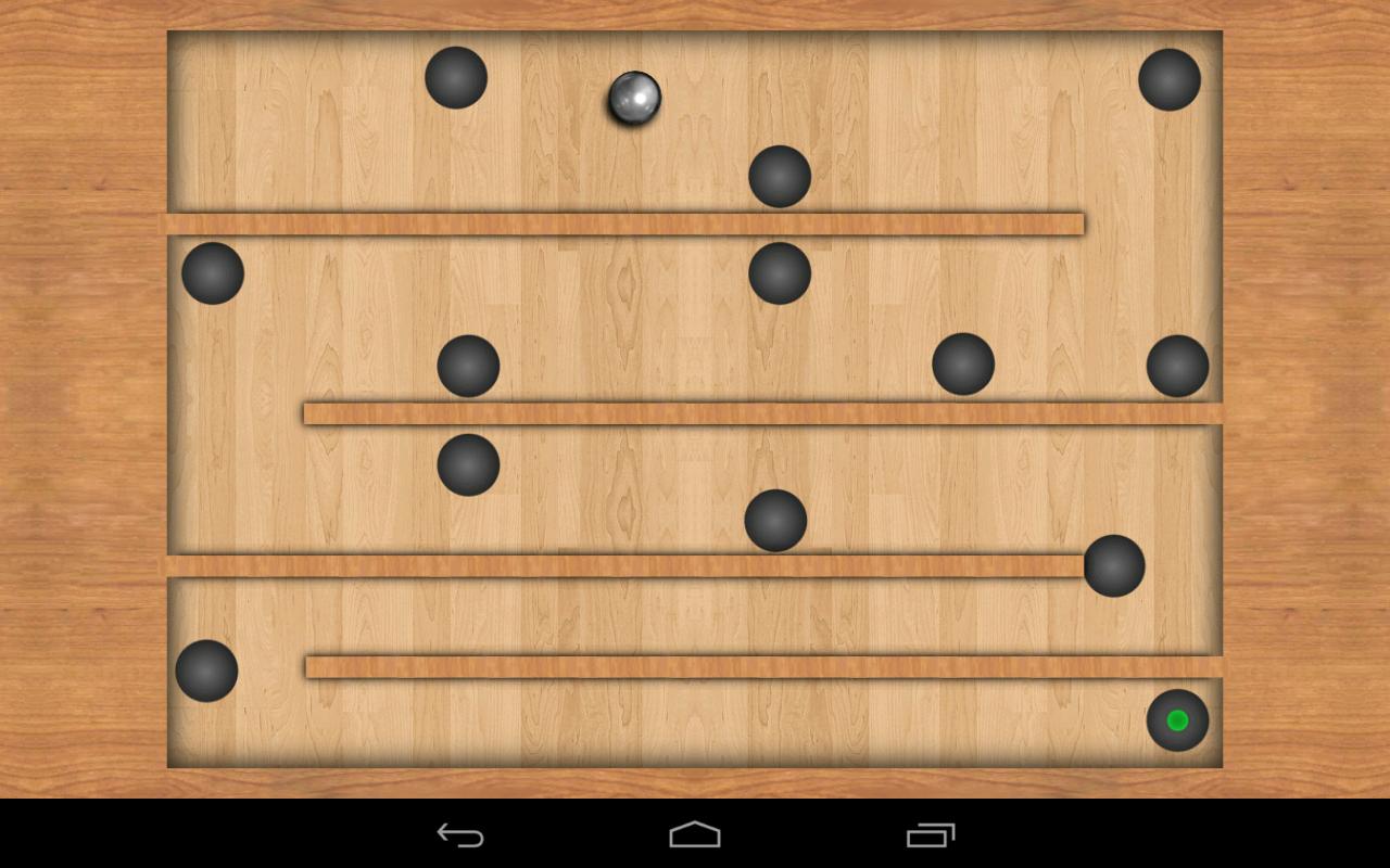 Screenshot Teeter Pro - free maze game APK