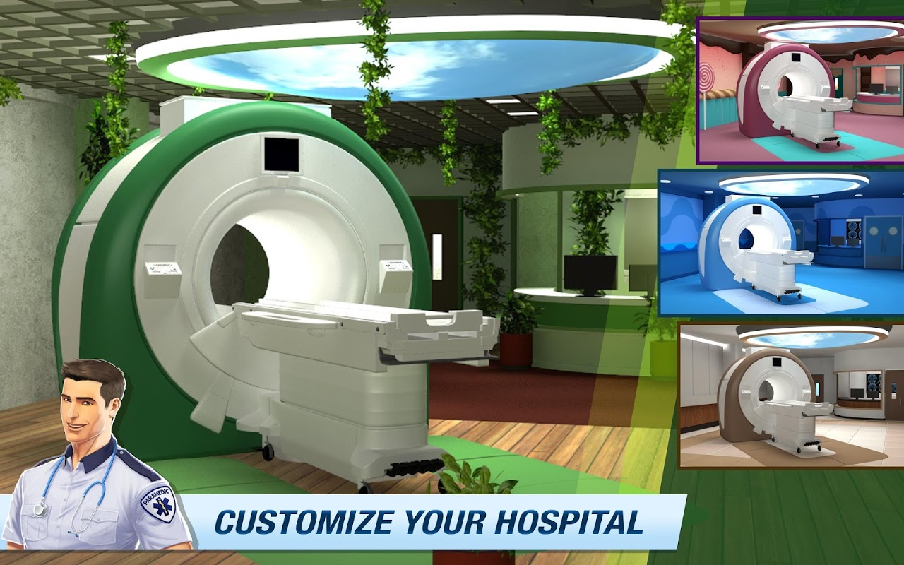 Screenshot Operate Now: Build your own hospital APK