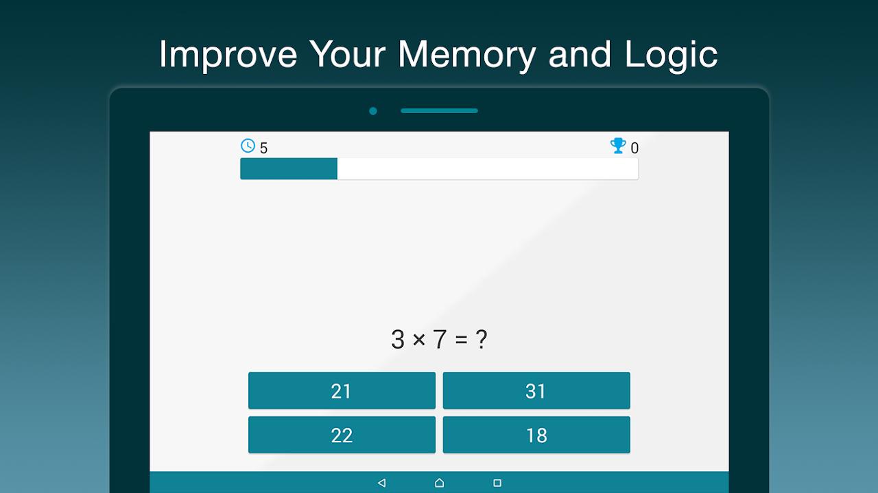 Screenshot Math Puzzle - Rise up and improve your mind APK