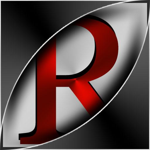 Rosso Metalico Launcher Theme
