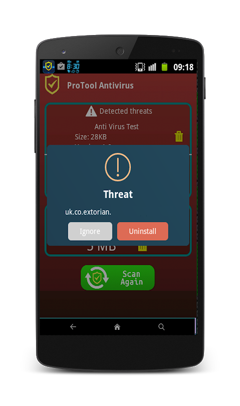 Screenshot Antivirus Pro for Android™ APK