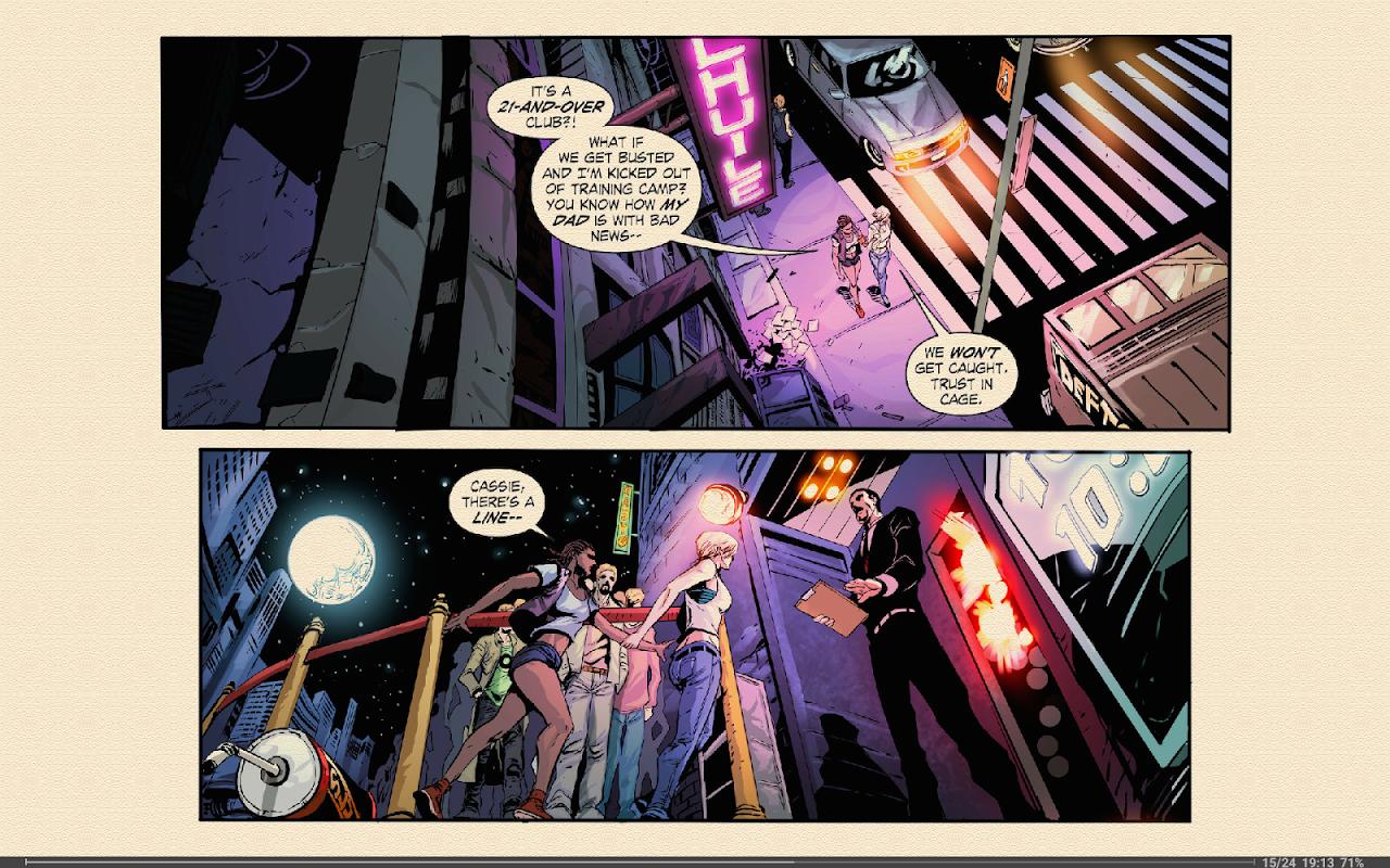Screenshot FBReader ComicBook plugin APK